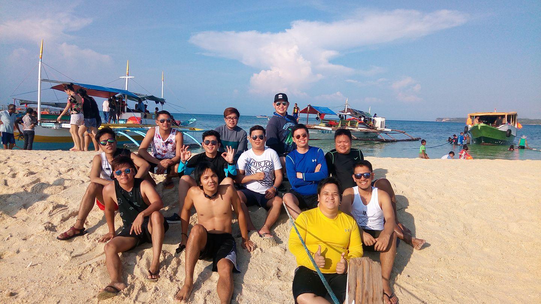 Burias Island with my homies