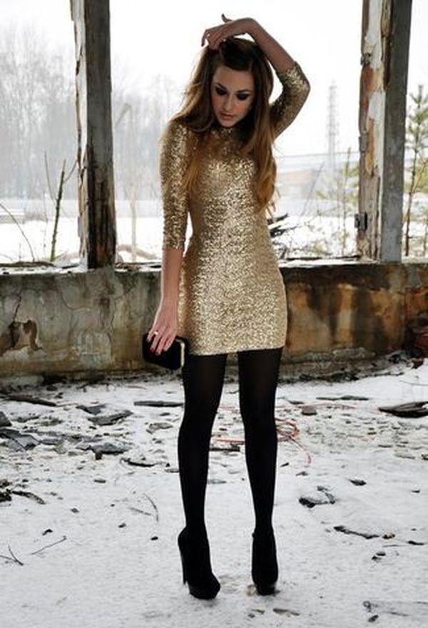Outfits con vestidos de fiesta