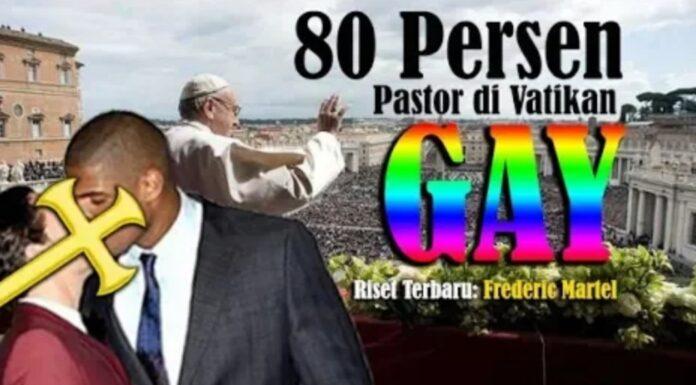 Hasil Riset Jurnalis Prancis, Klaim 80 Persen Pastor Vatikan adalah Gay