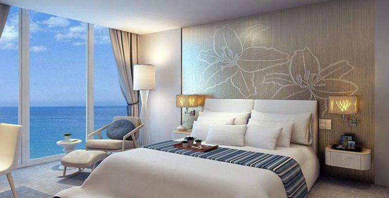 Phòng ngủ sang trọng tại chung cư An Bình City