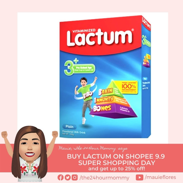 Lactum 3 Plus Plain Powdered Milk Drink 150g