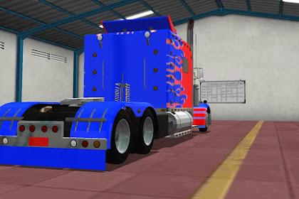 Mod Bussid Optimus Prime
