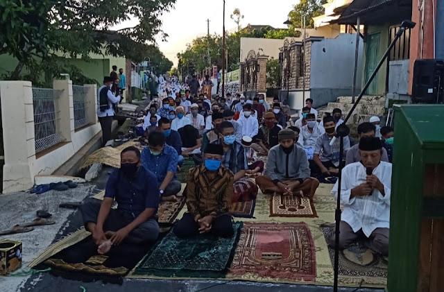 Sholat Idul Fitri 1 Syawal 1441 H dusun jetis kuto