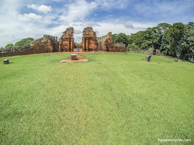 Praça Maior da Missão Jesuítica de San Ignacio Miní