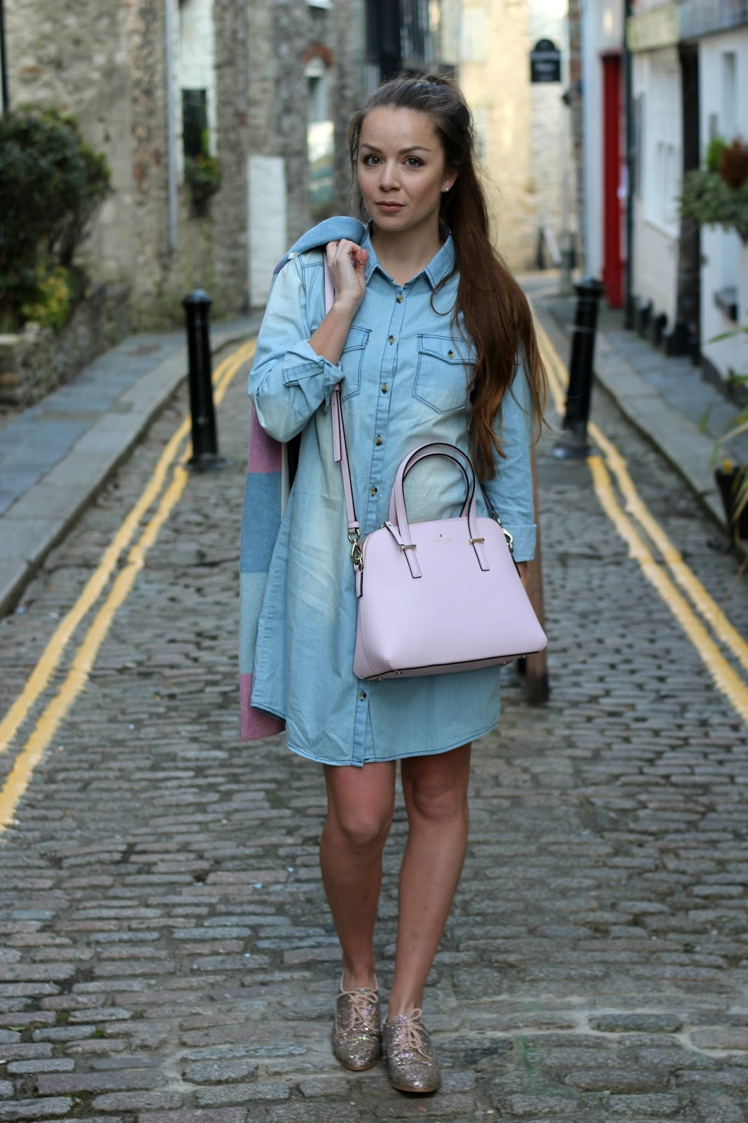 denim-shirt-dress-apricot