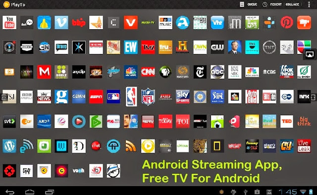 Best live TV apps for android devices