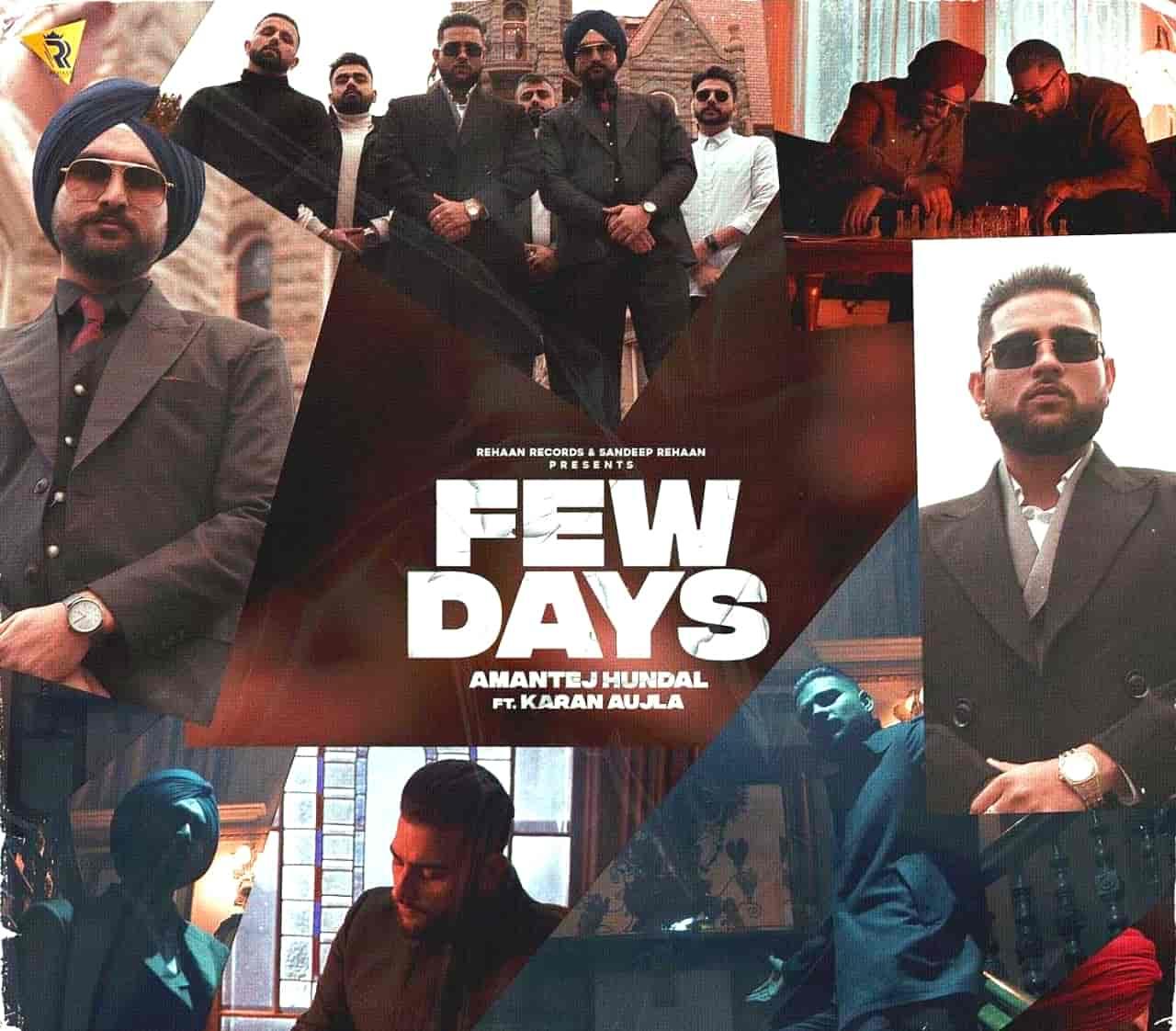 Few Days Punjabi Song Lyrics Karan Aujla
