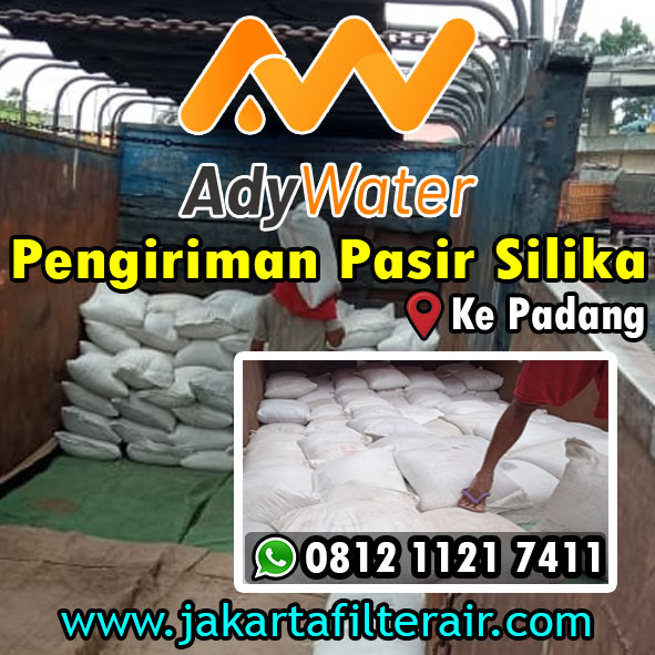 Pasir Silika Putih Halus - Harga Pasir Silika Kasar - Jual Pasir Silika Putih - untuk Filter Air, Sandblasting - Ady Water  - Jakarta