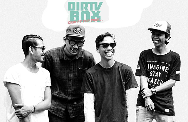 Dirty Box Band Crappy Pop Punk Bali