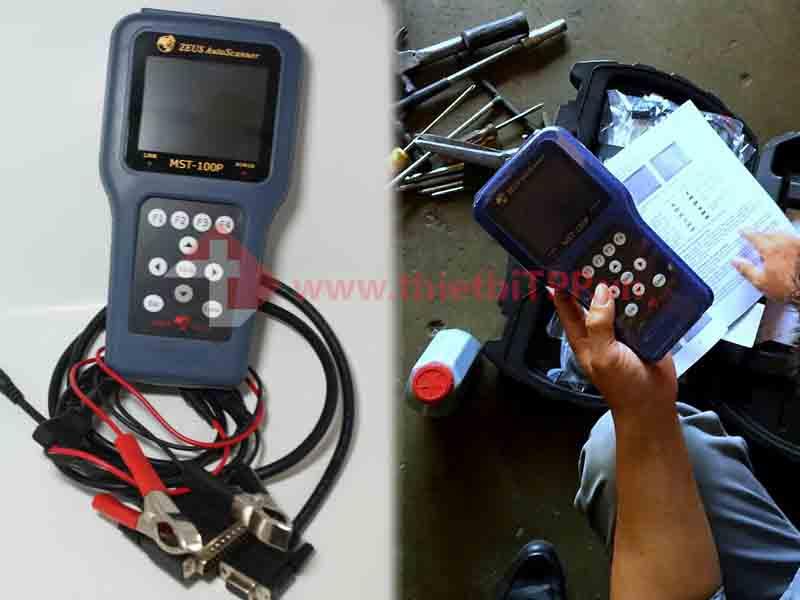 Máy đọc xóa lỗi MST 100P, máy chuẩn đoán lỗi mst 100p, máy test lỗi mst 100p, máy xóa lỗi xe máy mst 100p