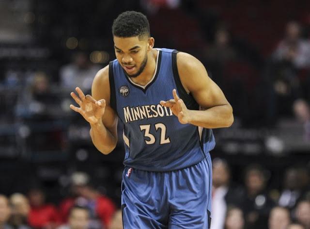 Le jeune pivot des Wolves devrait réaliser une saison de MVP en 2016-17