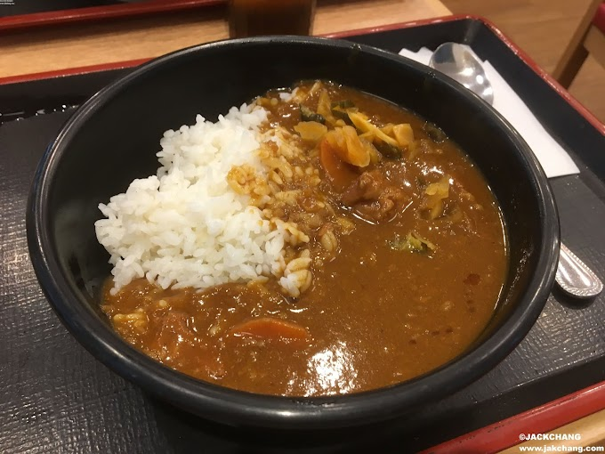 Taipei Songshan Station Store-Sukiya, drunk and sober up with curry?