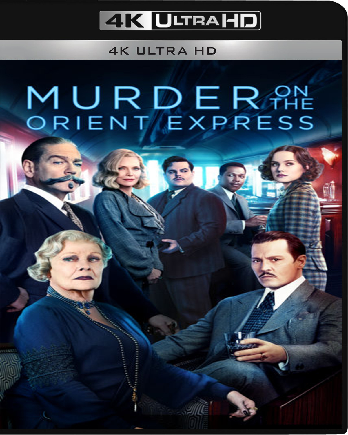 Murder on the Orient Express [2017] [UHD] [2160p] [Latino – Castellano]