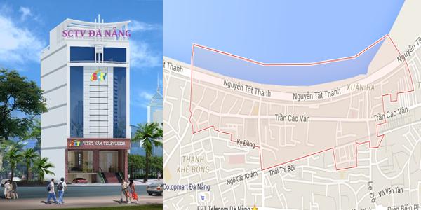 Truyền hình cáp SCTV phường Xuân Hà, quận Thanh Khê, Đà Nẵng