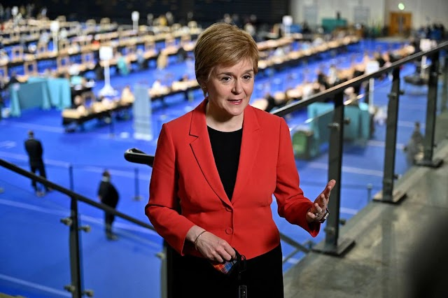 Pro- Independence parties won a majority in the Scottish Parliament