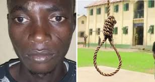 Noose-man new year ; Orange seller sentenced to death by hanging