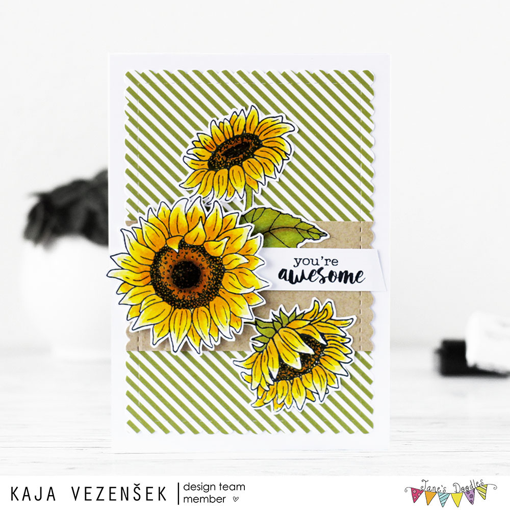 Sunflowers | JANE'S DOODLES