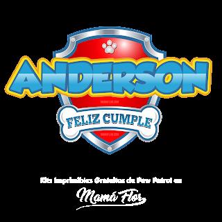 Logo de Paw Patrol: Anderson