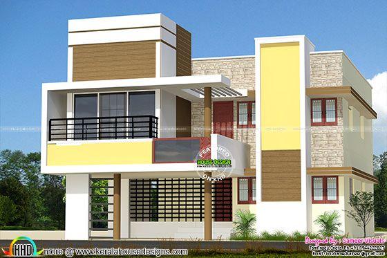 Modern Tamilnadu house