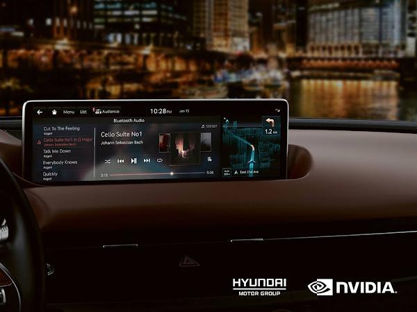 Hyundai e Kia terão tecnologia NVIDIA a partir de 2022