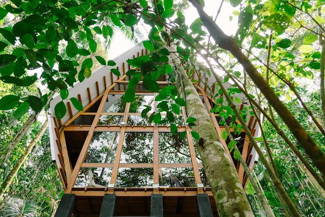 Kabin Rumah Ramah Lingkungan yg Sangat Nyaman