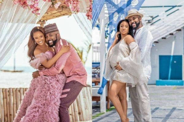 We both cried when we lost our twins and evacuated them- Adesua Etomi and Banky W reveals(Video)