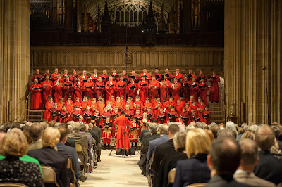 St George's Chapel choir - credit Gill Aspel © The Dean and Canons of Windsor