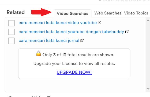 Tips Cara Mencari Kata Kunci Youtube dengan Tubebuddy