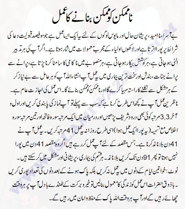 Surah Ikhlas Ka Wazifa