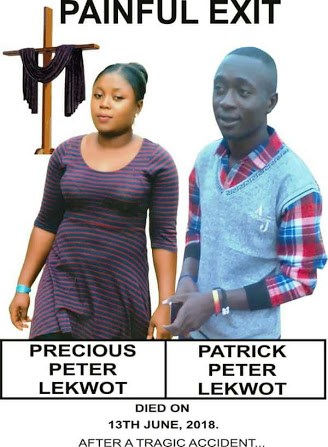 TRAGIC! Obituary Of Lady & Her Brother Who Died In Accident