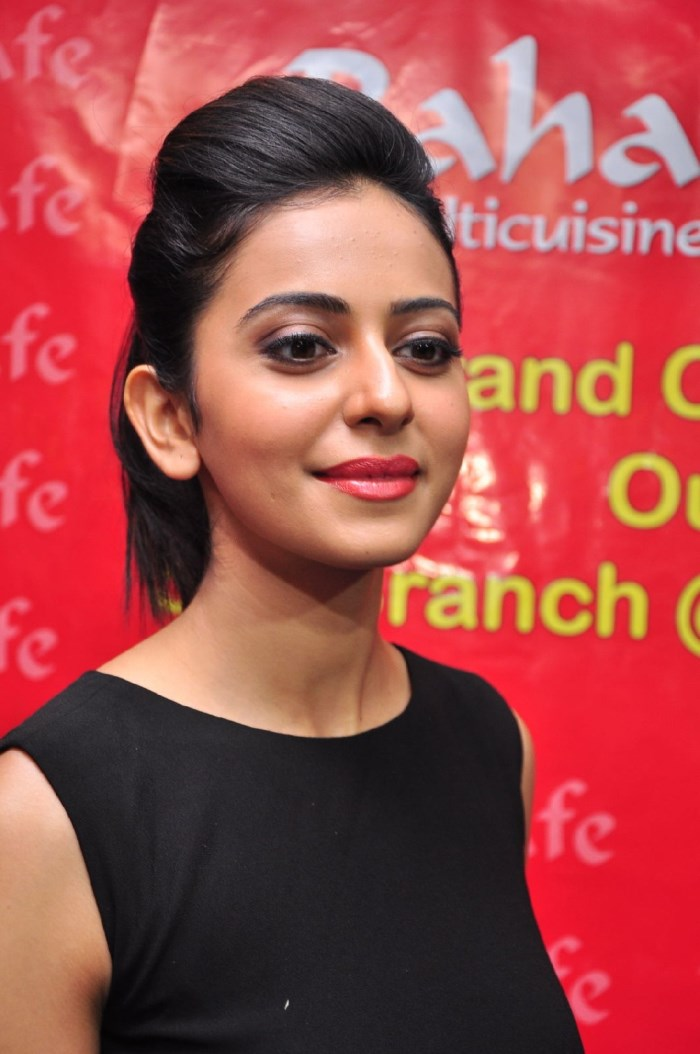 Telugu Rakul Preet Singh Latest Photos In Black Dress