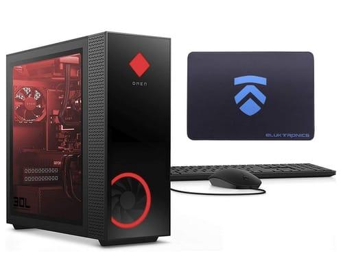 2021 ELUK OMEN 30L NVIDIA RTX 3090 Gaming Desktop PC