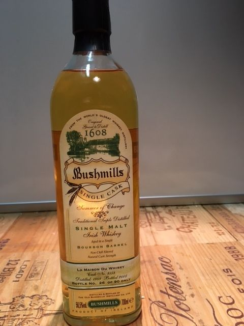 Bushmills 1989 - Single cask