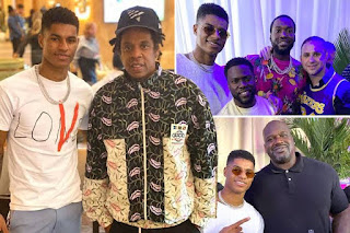 Marcus Rashford plans to become global superstar after Jay-Z link-up