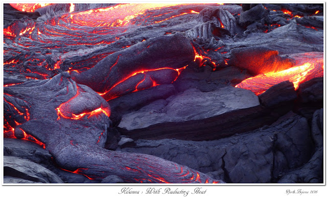 Kilauea: With Radiating Heat