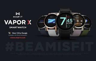 Misfit Vapor X Smart watch Dengan Snapdragon Wear 3100