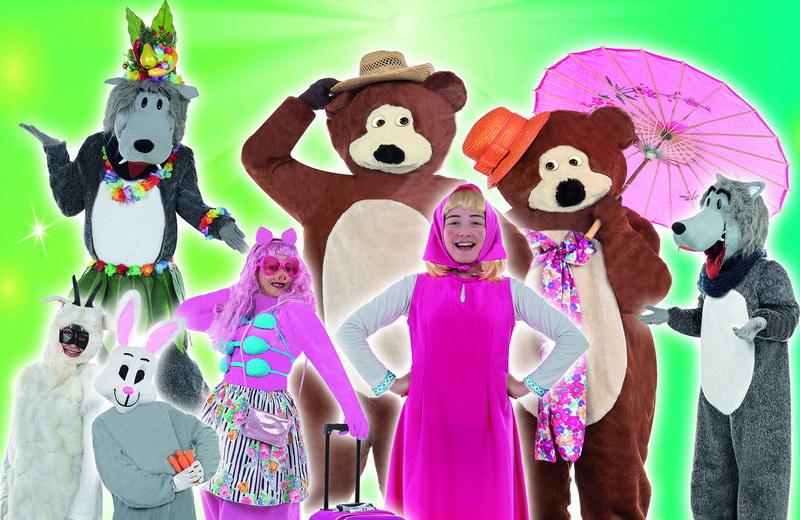 Η παιδική θεατρική παράσταση «Η Μάσα και ο αρκούδος» στο Κηποθέατρο Αλεξανδρούπολης