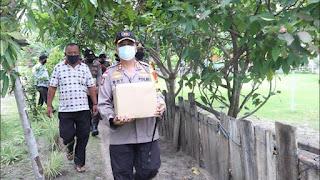 Bakti Sosial Endra Dharmalaksana Akpol 99 Polres Lingga Peduli COVID-19