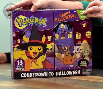 Jazwares Pokemon Halloween Calendar 8