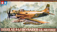Galerie Photos de l'A-1J Skyraider de Tamiya au 1/48.