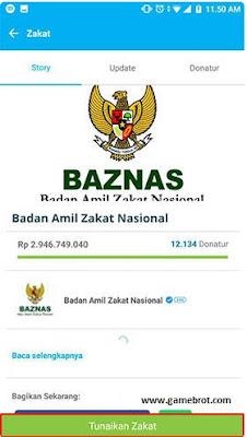Aplikasi Bayar Zakat Via Online
