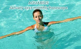 AQUARIUS January 2017 monthly horoscope zone