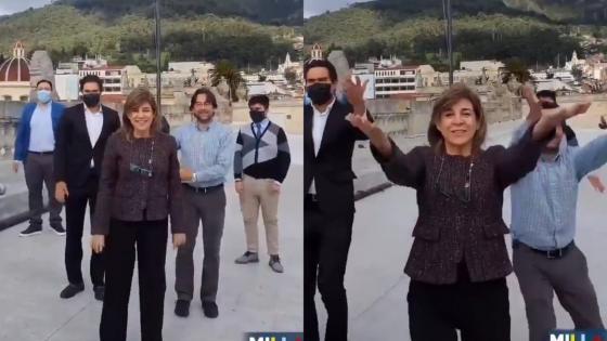 hoyennoticia.com, Senadora uribista baila en Tik Tok