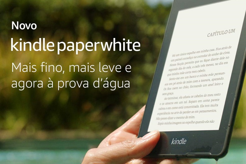 Novo Kindle Paperwhite