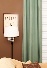 The Thrifty Abode No Sew Lined Drapery Panels