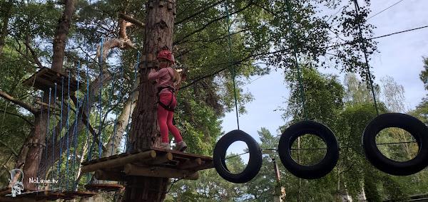 Małpi Gaj, Park linowy dla dzieci