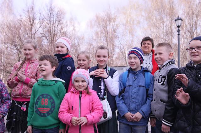 Детский праздник в храме преподобного Сергия Радонежского