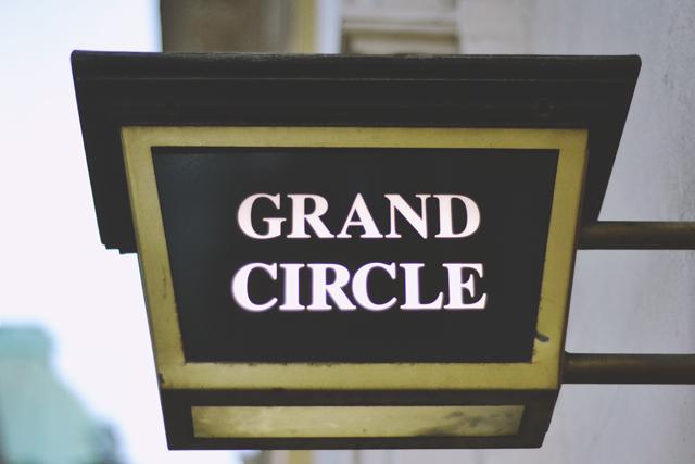 Theatre Grand Circle Sign