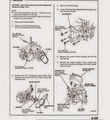 1992-1995 Honda Civic Service Manual ~ Free PDF Manual