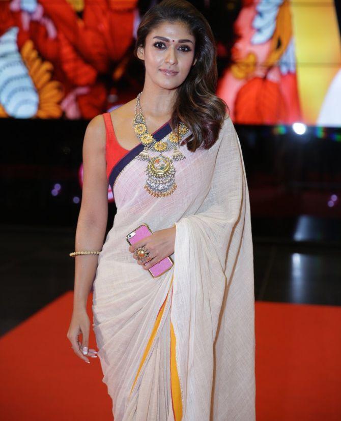Nayanthara In Saree Photo Gallery - Filmnstars